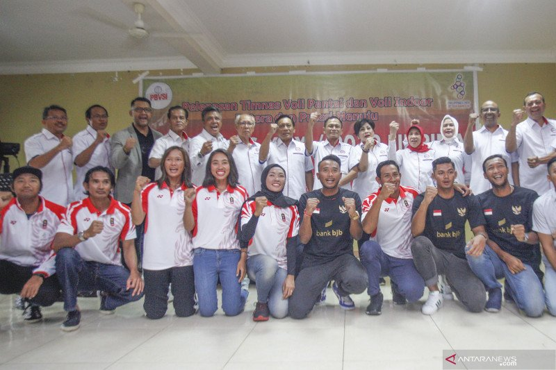 Tim voli putra Indonesia ke semifinal  SEA Games 2019 usai libas Filipina