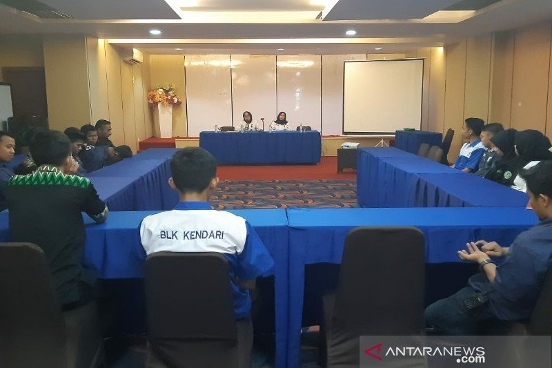 BNN Sultra sosialisasi P4GN pada karyawan hotel