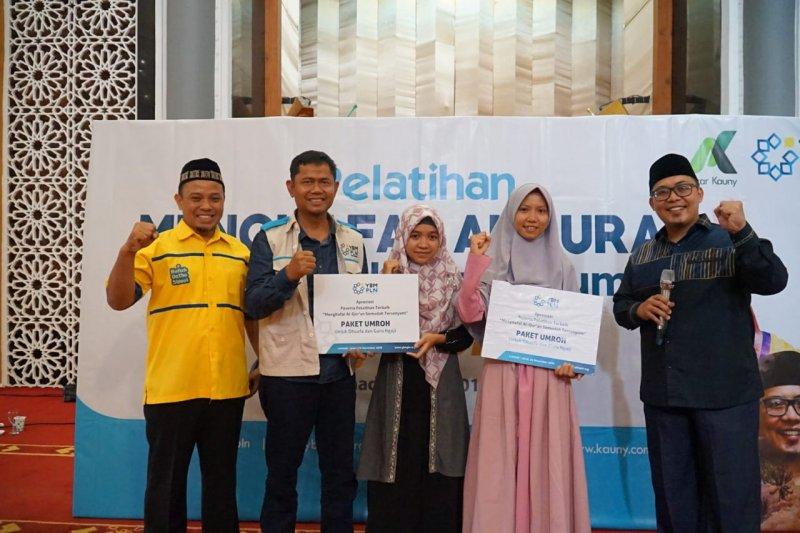 YBM PLN gelar pelatihan menghapal Al-Quran Semudah Tersenyum di Lombok