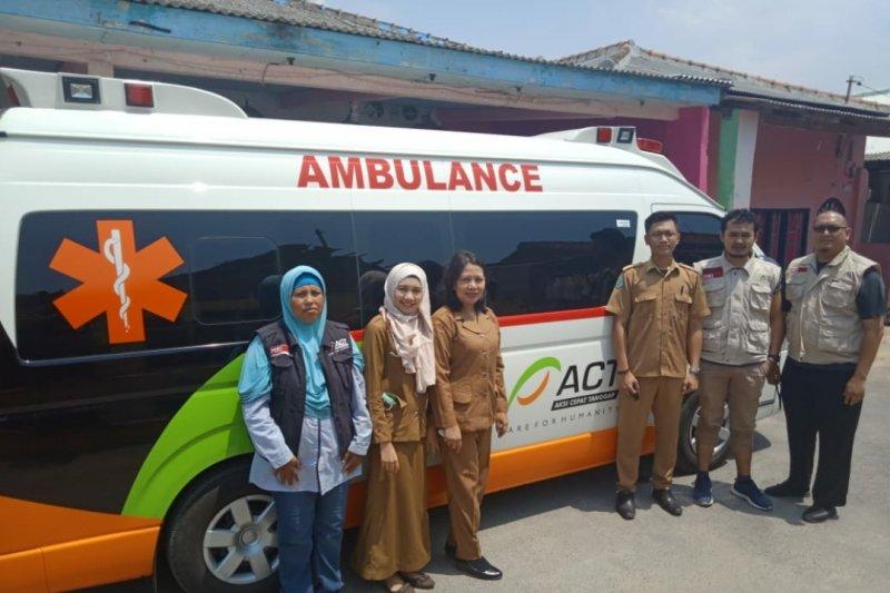ACT Lampung berikan pelayanan kesehatan kepada warga