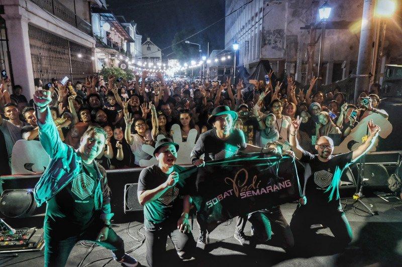 Padi Reborn terkesima keindahan Kota Lama Semarang