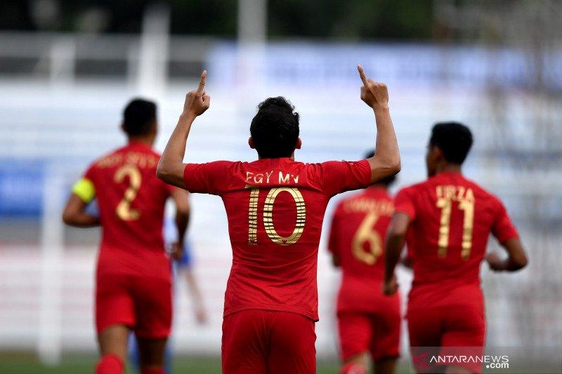 Babak pertama, Egy bawa timnas U-22 Indonesia ungguli Thailand 1-0