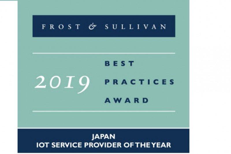 NTT Communications raih penghargaan 2019 Japan IoT Service Provider of the Year pada Frost & Sullivan 2019 Asia Pacific ICT Awards