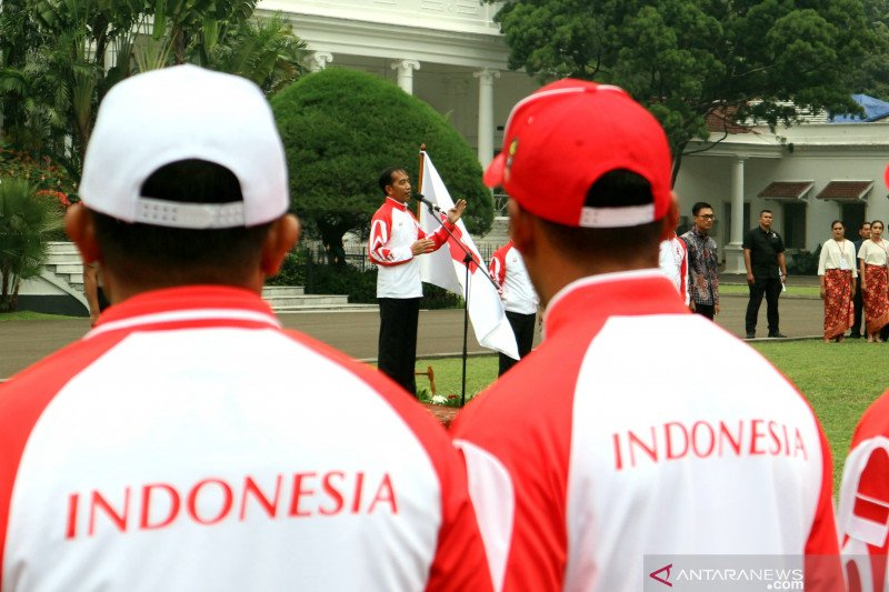 SEA Games, Presiden targetkan kontingen Indonesia masuk dua besar