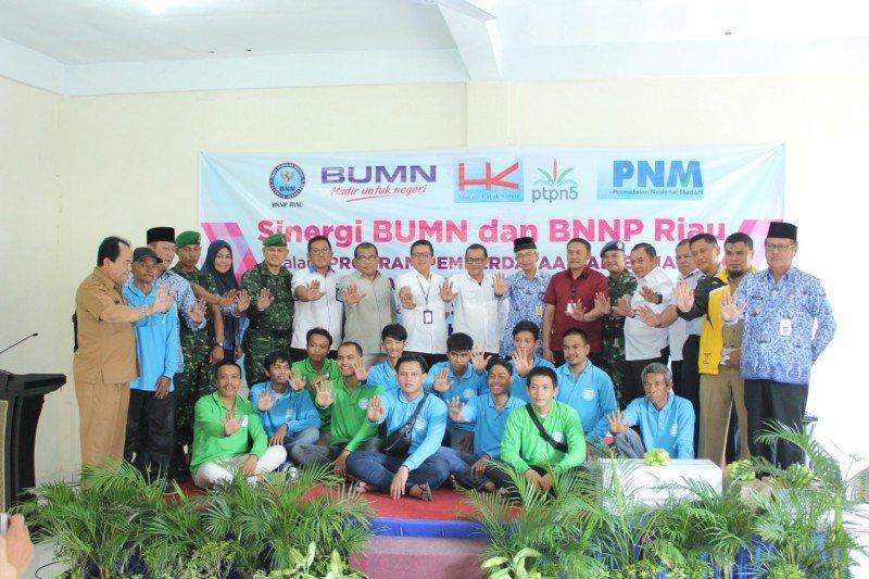 Hutama Karya dan BNN Provinsi Riau gelar pelatihan keterampilan