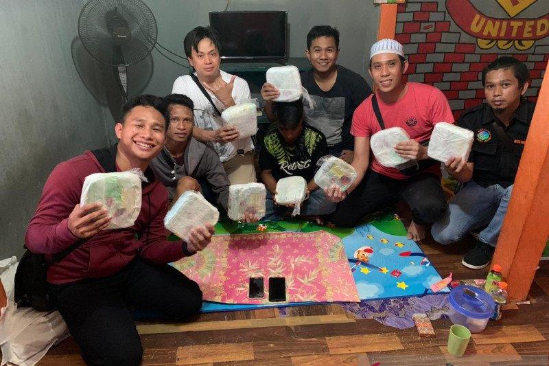 Polres Nunukan gagalkan penyelundupan sabu dalam ember cat
