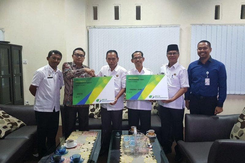 Panitia Pemilihan Wali Nagari di Kabupaten Solok didaftarkan sebagai peserta jaminan sosial