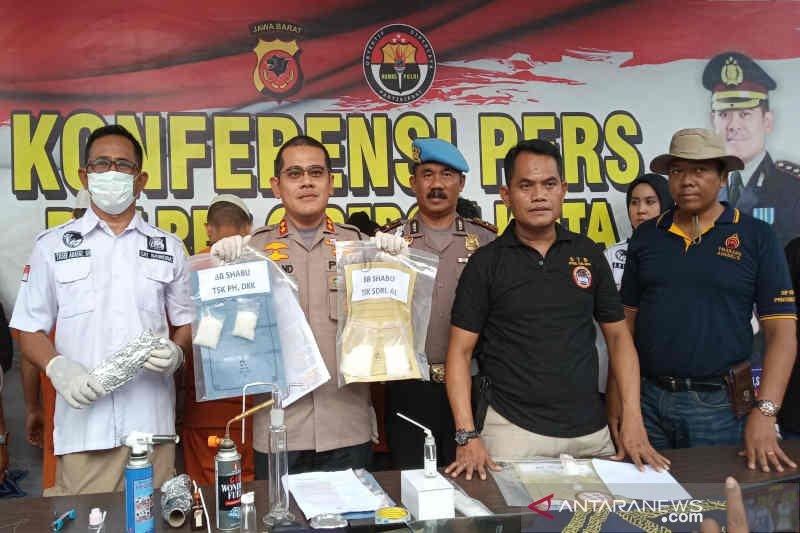 Polres Cirebon Kota bekuk enam pengedar sabu