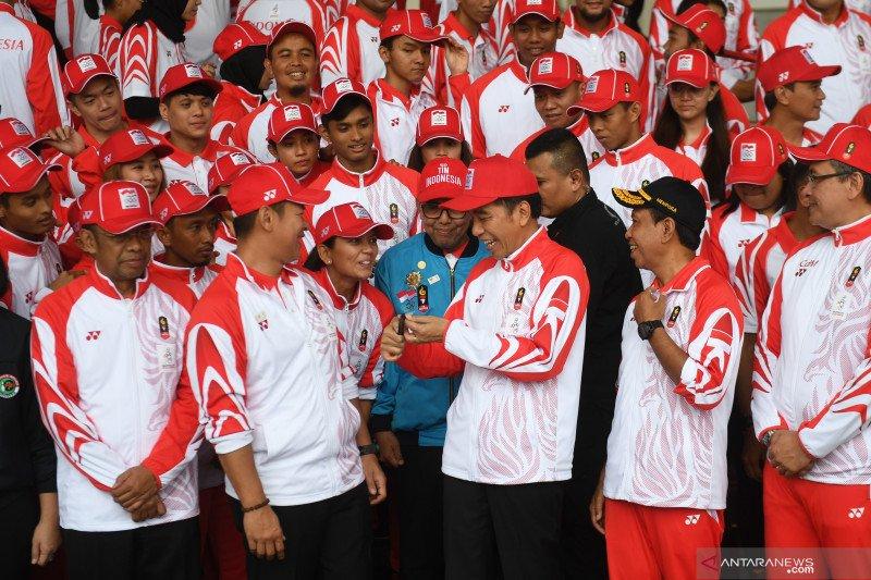 Presiden Jokowi: tidak masuk akal Indonesia kekurangan calon atlet