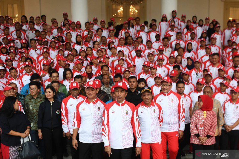 Raihan medali Indonesia di SEA Games lampaui target Menpora 45 emas