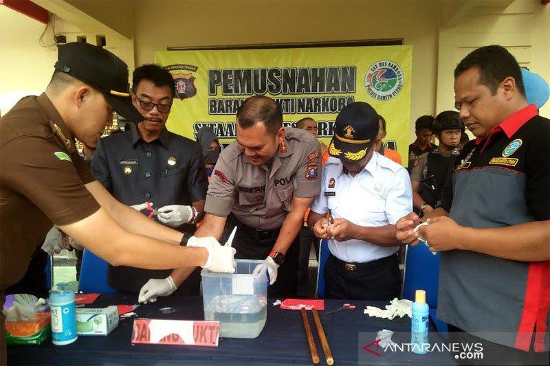 Wabup Barito Utara apresiasi kinerja Polri memberantas narkoba