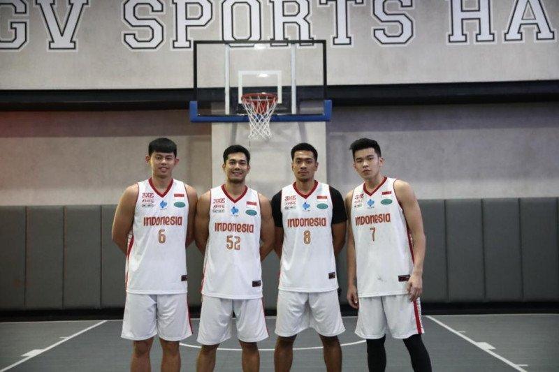 Timnas Basket 3x3 putra kalah dari Filipina