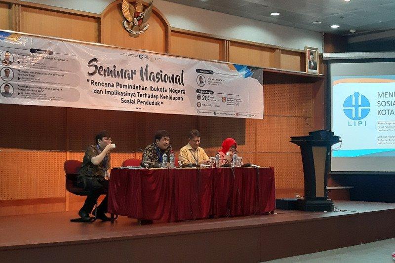 LIPI sarankan forum lintas etnis cegah konflik  terkait pemindahan ibu kota