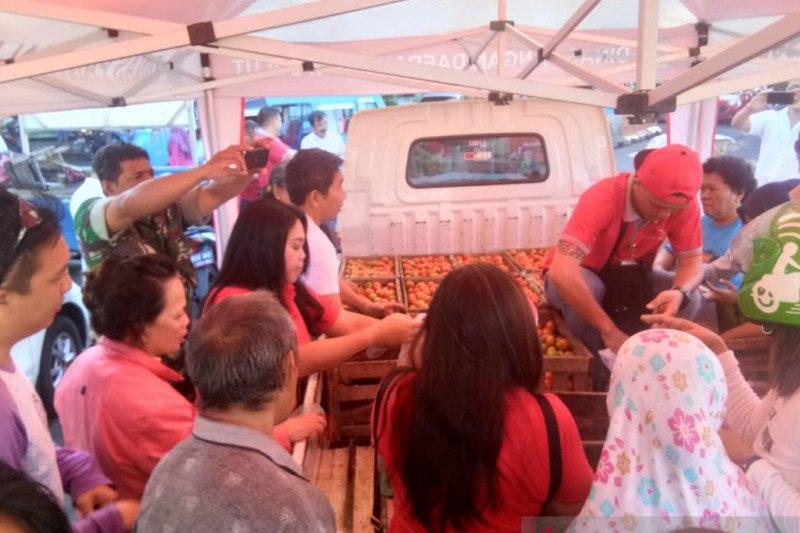 Pemprov Sulut Tingkatkan OP Tomat Hingga Harga Stabil