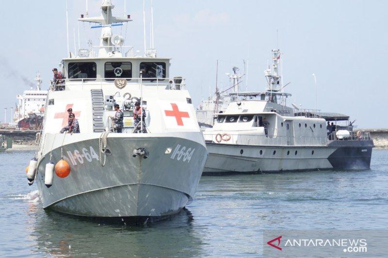 Latihan Operasi penanggulangan Bencana libatkan empat kapal perang