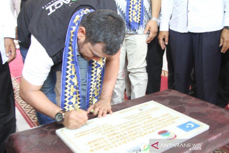 ACT resmikan masjid persahabatan  Indonesia-Turkistan Timur