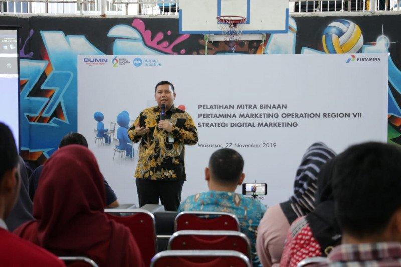 """53 UMKM mendapat pelatihan """"digital marketing"""" dari Pertamina"""