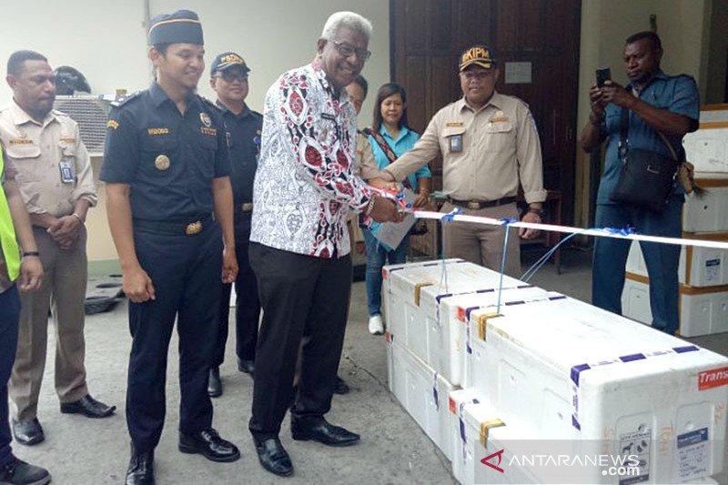 UD Putri Desi Mimika ekspor kepiting bakau ke Singapura via Jakarta
