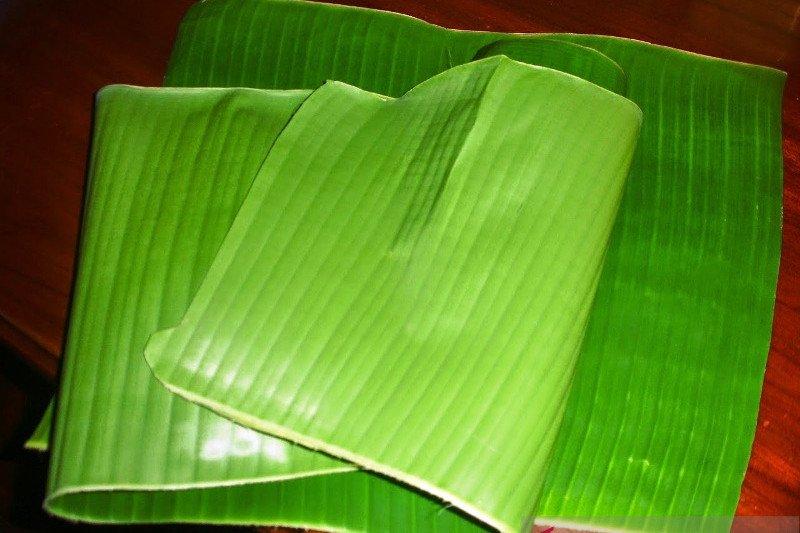 Pemerhati sebut daun pisang bisa kurangi penggunaan plastik