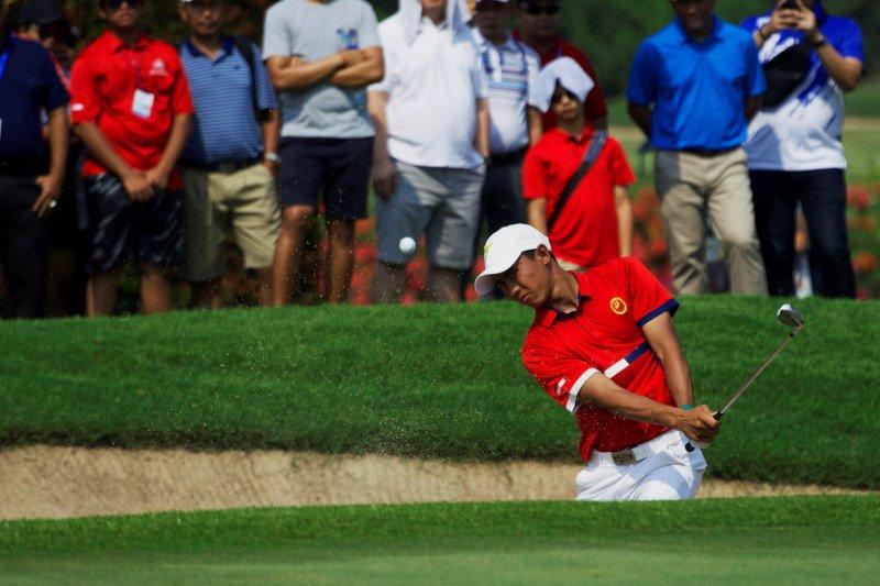 Dua jagoan golf Indonesia siap memanaskan turnamen Indonesian Masters