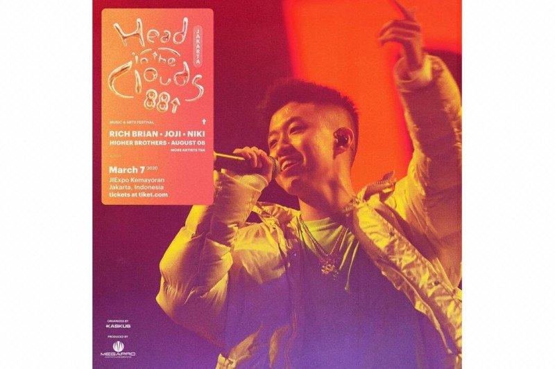 Rich Brian konser di Jakarta, berapa harga tiketnya?