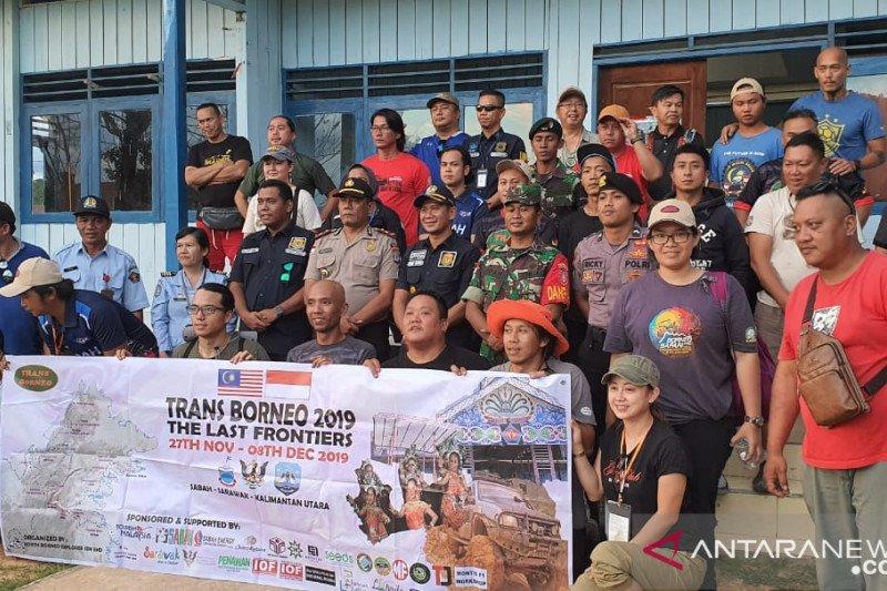 40 WNA ikut Jelajah Borneo Malaysia-Indonesia 2019