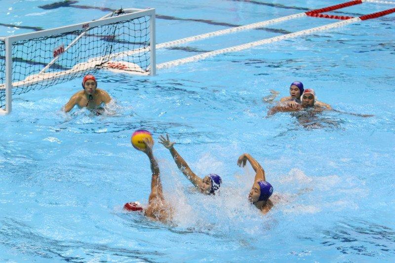 Tak terkalahkan, timnas polo air putra Indonesia tinggal tunggu emas pertama