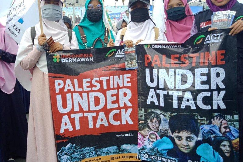 Puluhan ormas gelar peduli Palestina