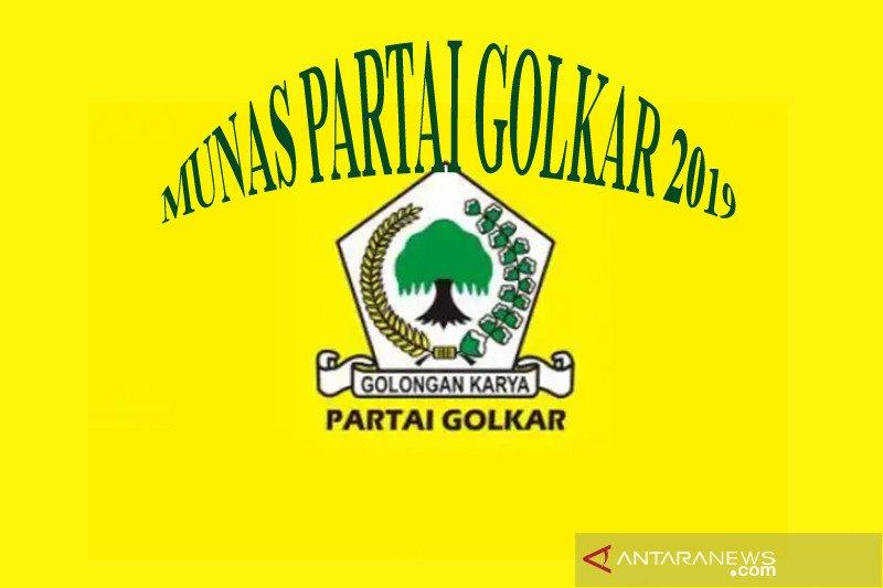 Munas Golkar lahirkan ketua umum berani maju capres
