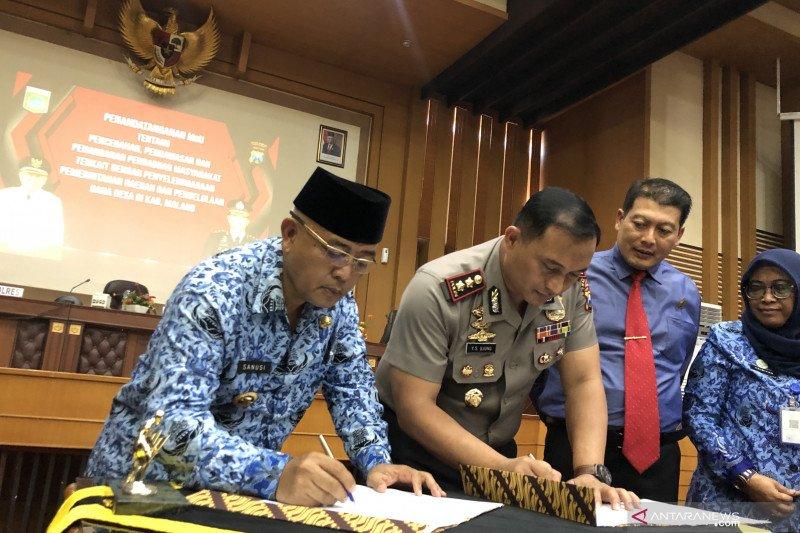 Polres Malang Gandeng Pemkab Jalin Kerja Sama Pengawasan Dana Desa Antara News Sumatera Barat
