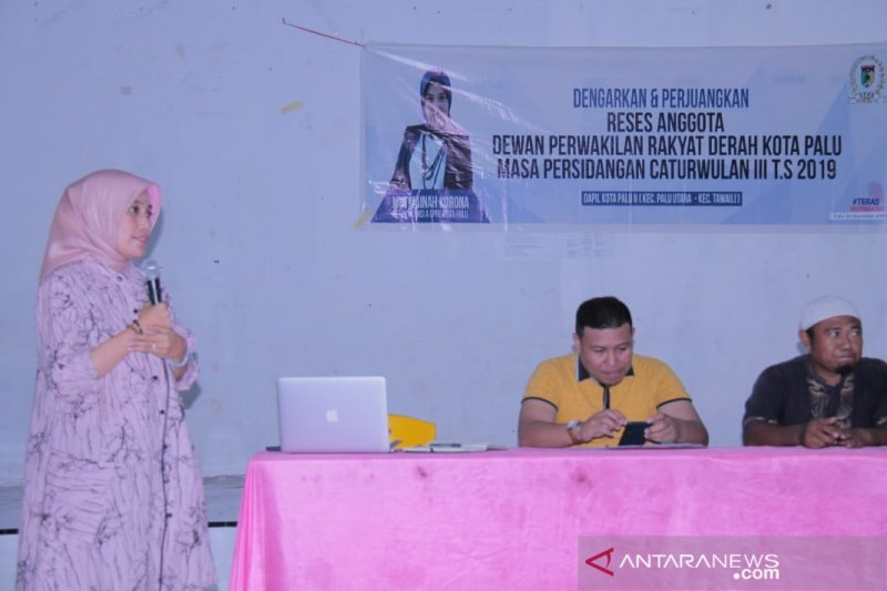 Legislator Palu suarakan APBD untuk penguatan ekonomi perempuan