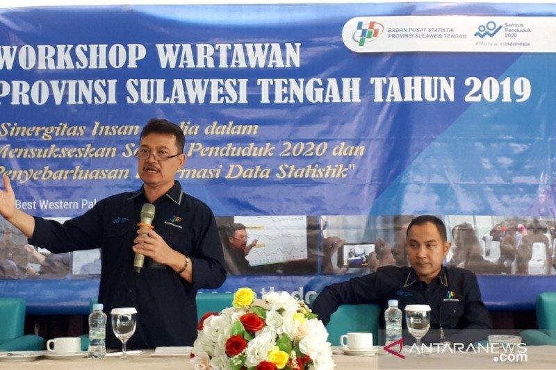 BPS: Peran media menentukan suksesi sensus penduduk Sulteng 2020