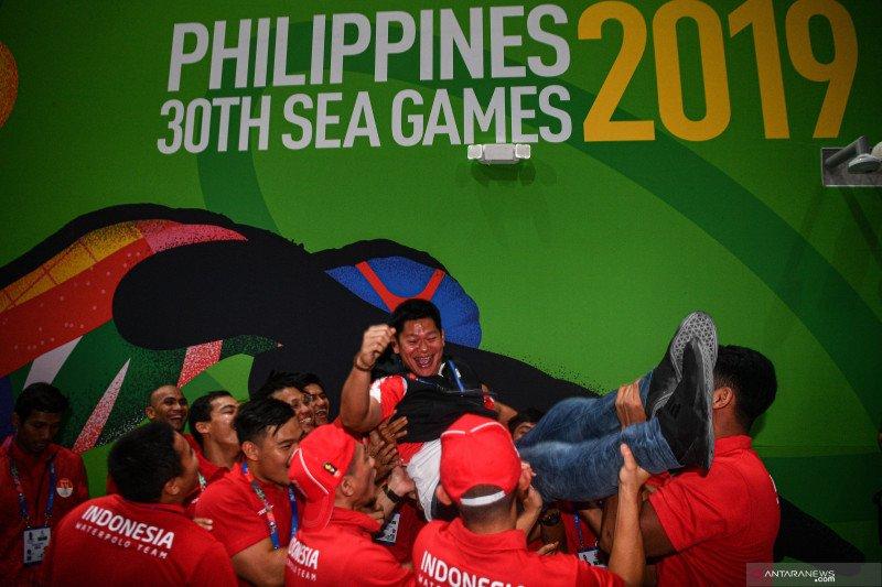 Tim polo air puta Indonesia raih emas di SEA Games 2019