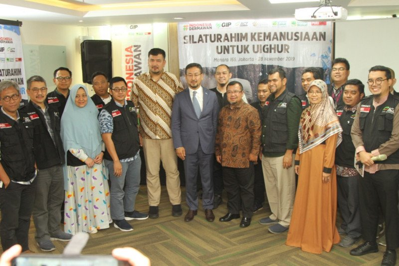 ACT silaturahim kemanusiaan bersama diaspora Uighur
