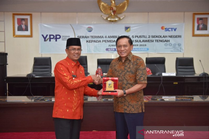 YPP SCTV-Indosiar salurkan bantuan untuk bencana Pasigala