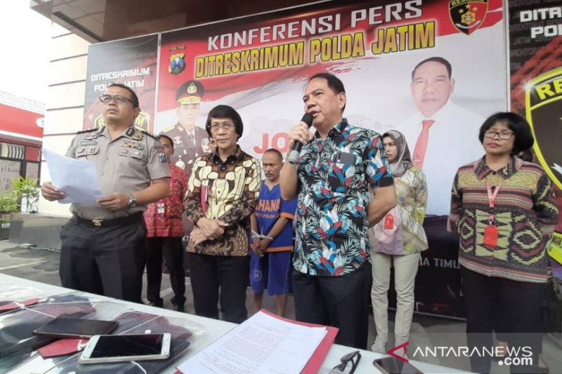 Polda Jatim bekuk pelaku cabul terhadap enam anak