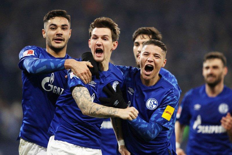 Atasi Union Berlin, Schalke sodok ke posisi kedua Klasmen Liga Jerman