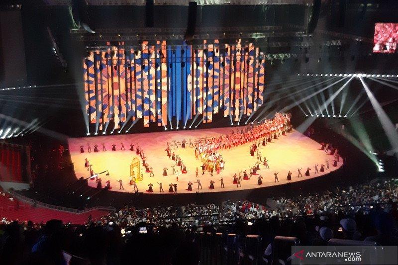 Indonesia disambut meriah pada pembukaan SEA Games