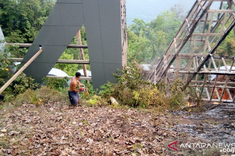 Tagline Padang yang terbakar segera diperbaiki