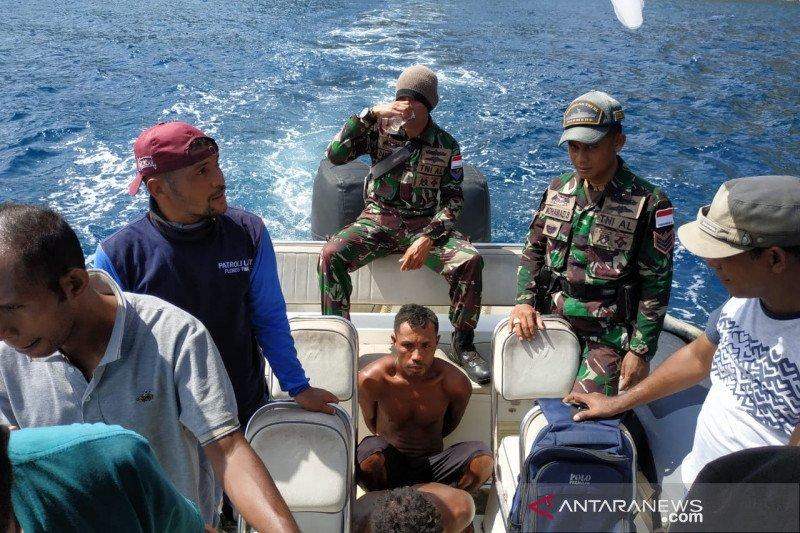 Tim patroli amankan dua nelayan pengebom ikan di Flores Timur