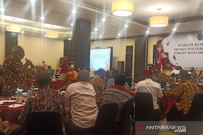 Tokoh Papua sampaikan 10 pemikiran bangun Papua ke Prabowo
