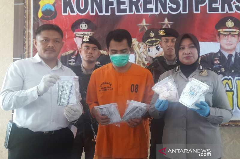 Oknum satpam pengedar obat terlarang ditangkap