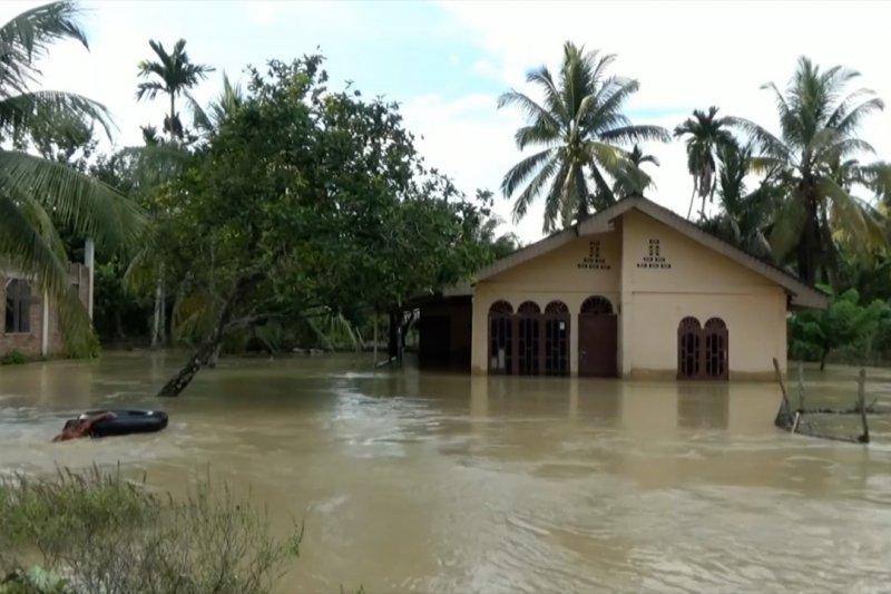 Kabupaten Nagan Raya-Aceh dilanda banjir