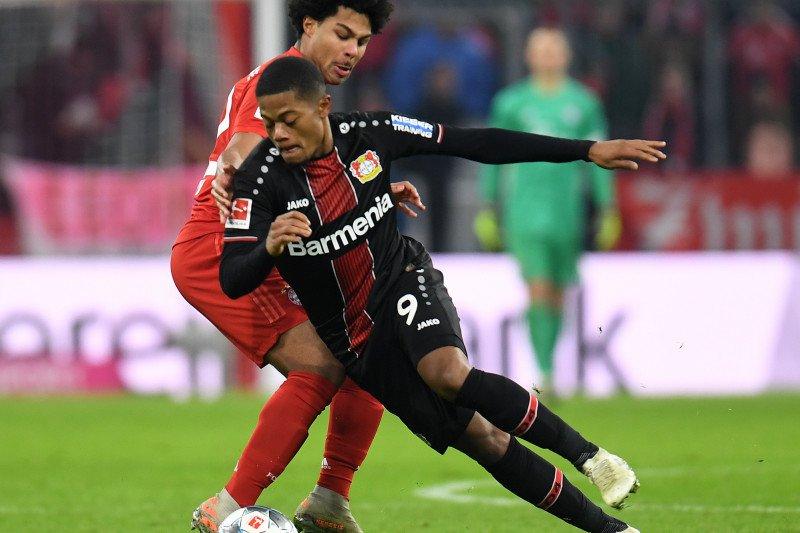 Dua gol Leon Bailey bawa Leverkusen hempaskan Bayern