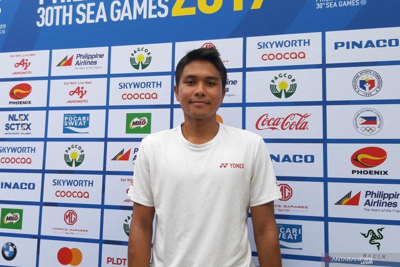 SEA Games: Muhammad Rifqy melaju ke perdelapan final tenis