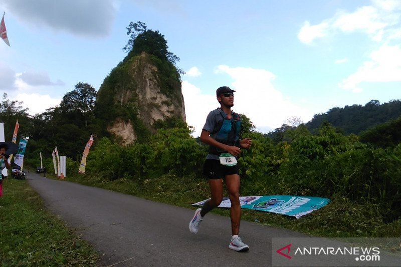 Ratusan pelari ikuti Explore Geopark di Bukittinggi