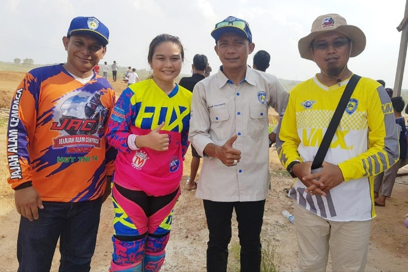 Sirkuit Merdeka Lintang Batang jadi penentu kroser terbaik Kalteng 2019