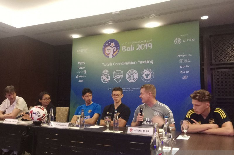 Real Madrid U-18 harus adaptasi suhu udara saat bermain di Bali
