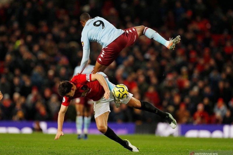 Manchester United ditahan Aston Villa di Old Trafford