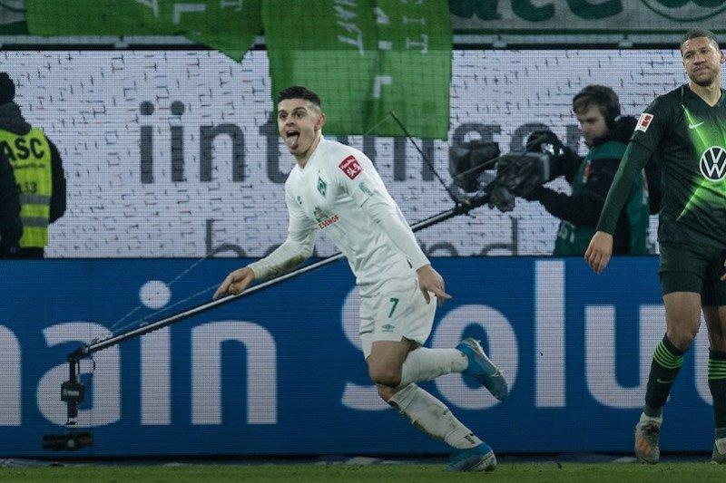 Bremen pecundangi Wolfsburg 3-2  untuk menjauh dari zona degradasi